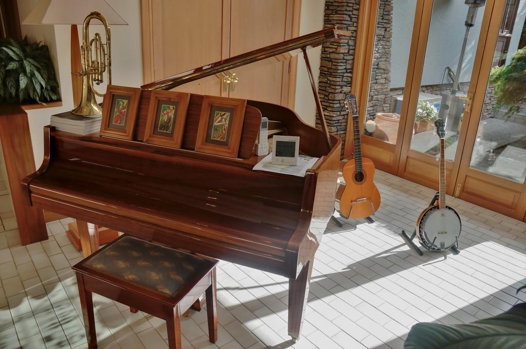 Musical Instruments at Lake Taupo Lodge