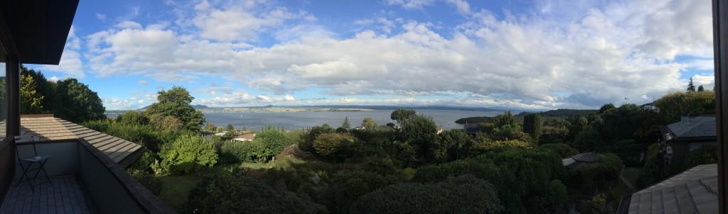 Lake Taupo Panorama from Lake View Room