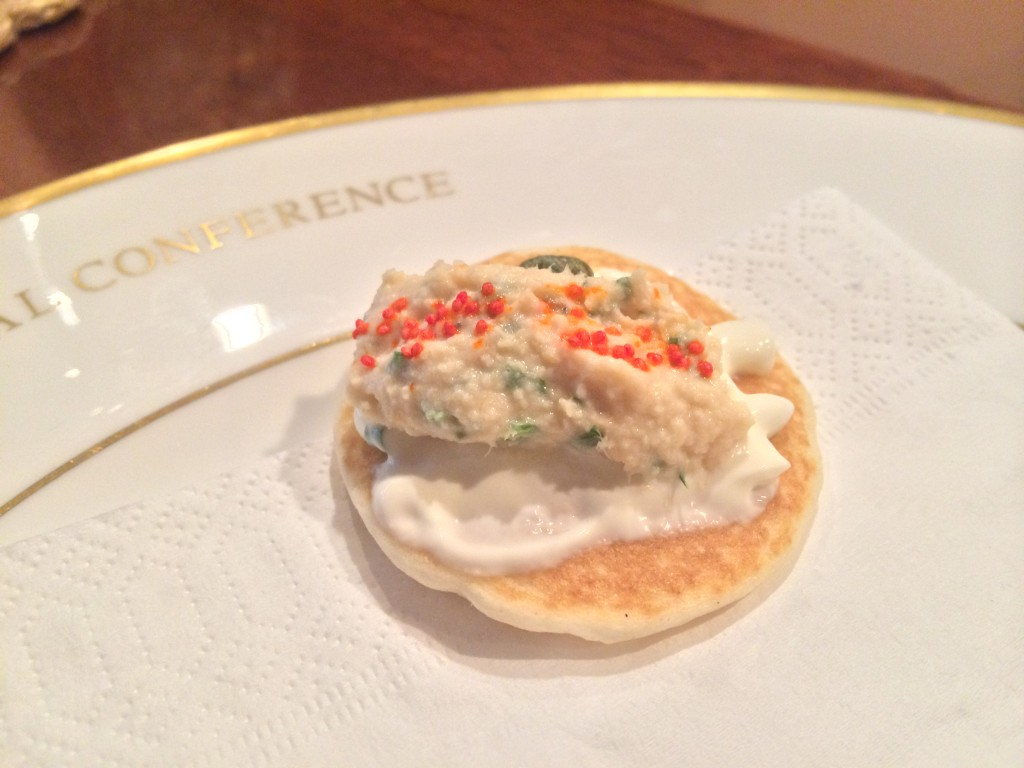 Smoked Trout Canape